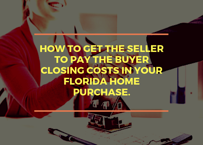 seller paying cllosing costs for buyer