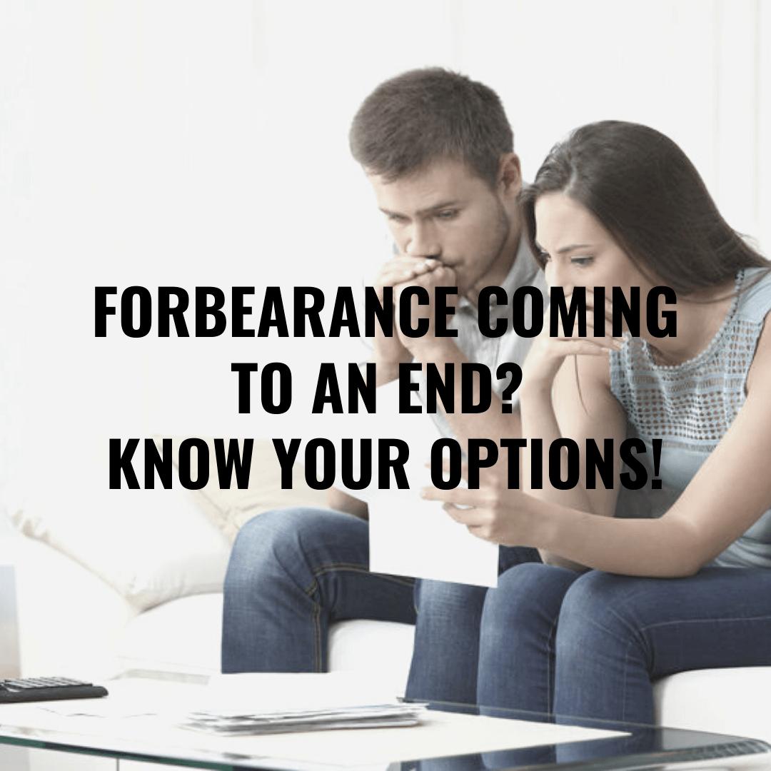 forbearance ending options