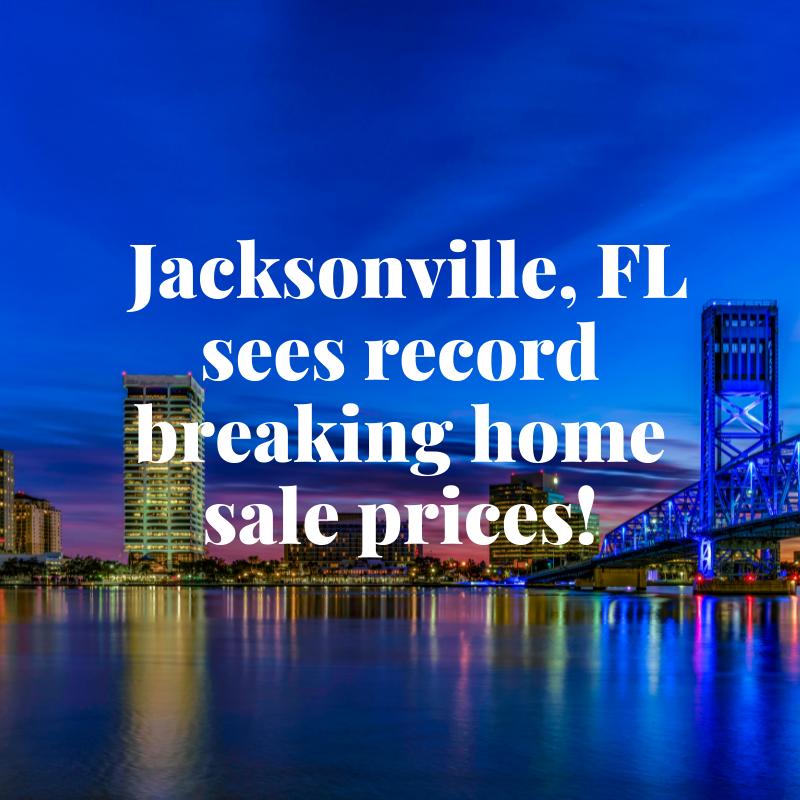 Jax home sales new records